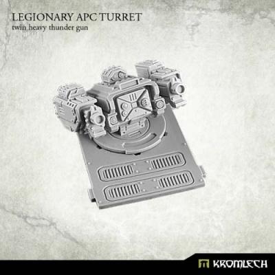 Legionary APC turret: Twin Heavy Thunder Gun