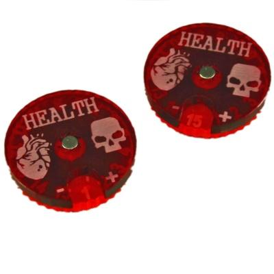 Cthulhu, Health Dials (2)