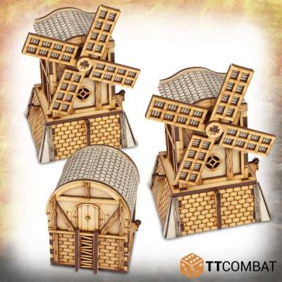 Halfling Windmills (3)