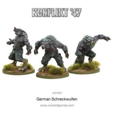 German Schreckwulfen (3)