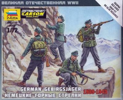 1:72 Gebirgsjäger 1939-43
