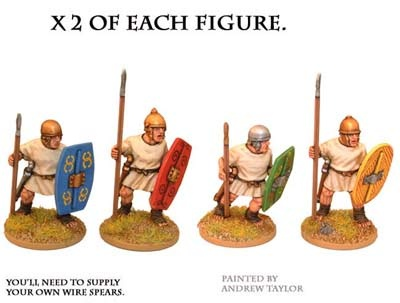Penal Legionaries with spears (8)