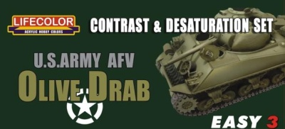 EASY 3: US Army AFV Olive Drab (3)