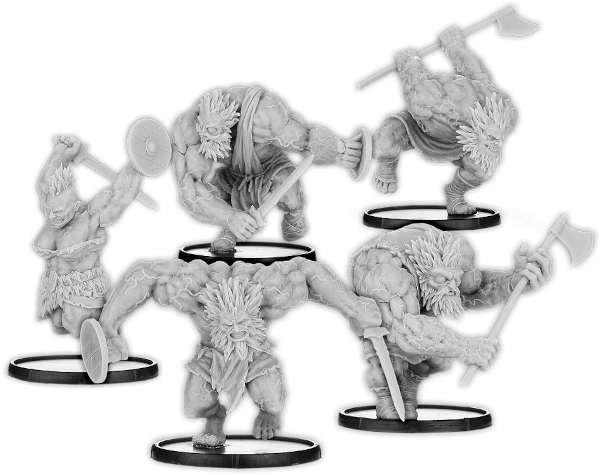 Warped of Danu, Fir Danu Unit (5x warriors)