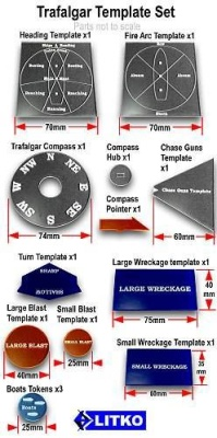 Trafalgar Template Set