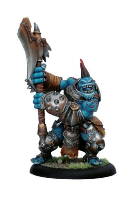 Trollblood Troll Axer Light Warbeast