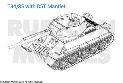 T34/85 (1/56)