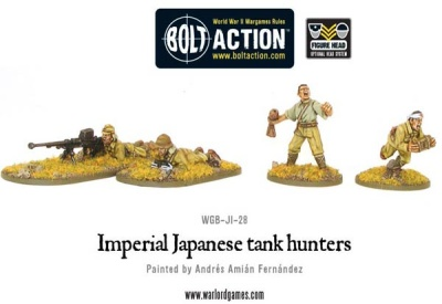 Imperial Japanese tank hunters