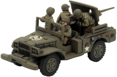 M6 37mm GMC (1x M6 37mm & four crew figures)