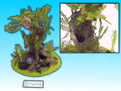 Geländestück Mangrovenbaum