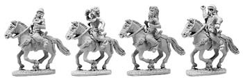 Gallic Un-armoured Cavalry with Shields (random 8 of 4 desig