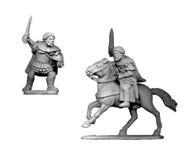 Hannibal Foot & mounted Versions