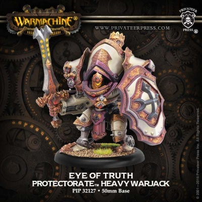 Protectorate Character Heavy Warjack Eye of Truth