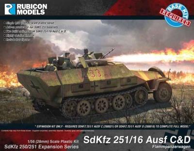 SdKfz 250/251 Expansion - 251/16 Ausf C/D Flammpanzerwagen