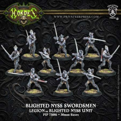 Legion Blighted Nyss Archers/Swordsmen (plastic)