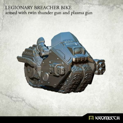 Legionary Breacher Bike: Armed with Twin thunder & Plasma