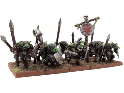 Goblin Spearmen Unit (10)