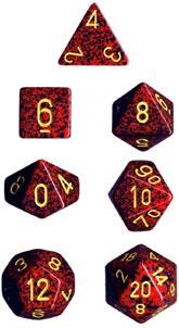 Chessex Mercury Speckled 7-Die Set