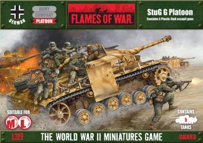 StuG G Platoon Box (plastic)