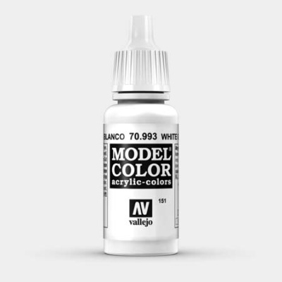 Model Color 151 Grauweiss (Flat Aluminum) (993)
