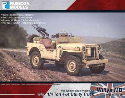 Willys MB + ton 4x4 Truck - Commonwealth