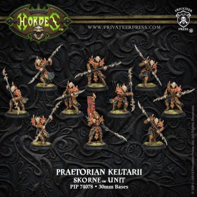 Skorne Praetorian Keltarii/Swordmen Unit Box (10)