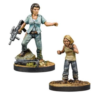 Walking Dead Maggie, Hilltop Leader Booster (2)