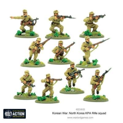 Korean War: North Korean KPA Rifle squad (10) OOP