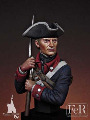 Continental Infantryman, 1st Maryland, 1781 (1/12)