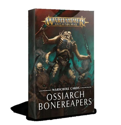 Schriftrollenkarten: Ossiarch Bonereapers