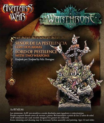 Lord of Pestilence with Paired Weapons