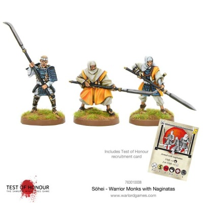 Sohei - Warrior Monks with Naginata