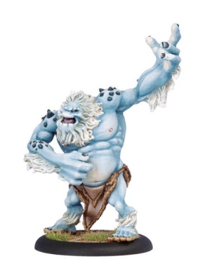 Trollblood Winter Troll Light Warbeast
