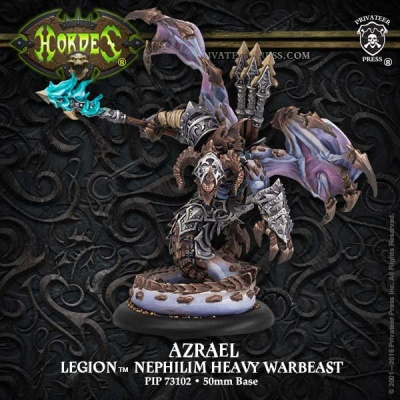 Legion Heavy Nephilim Character Warbeast Azrael (plastic)