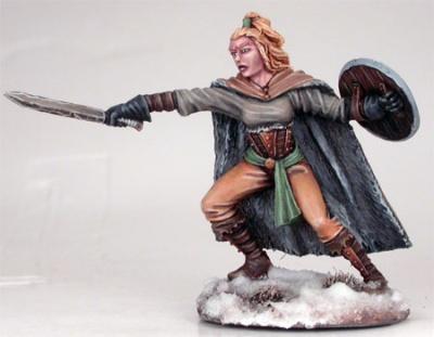 Wildling Kämpferin mit Kurzschwert