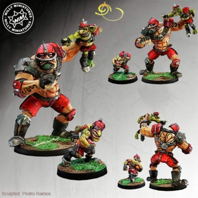 Ogre Star Player + Goblin (2)