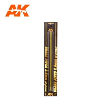 Messingrohre 2,6mm (2)