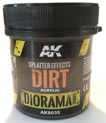 Splatter Effects Dirt - 100ml (Acrylic)