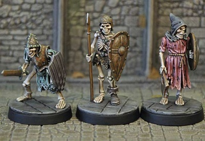 Armoured Skeletons I (3)