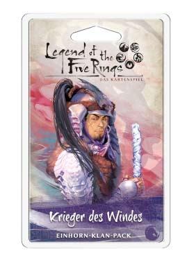 L5R: LCG - Krieger des Windes  Einhorn-Klan