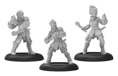 Cygnar Stormsmith Grenadiers