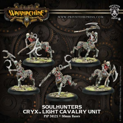 Cryx Cavalry Soulhunters (5)