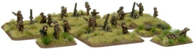 British Heavy Mortar Platoon