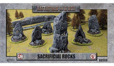 Sacrificial Rocks (x6) - 30mm