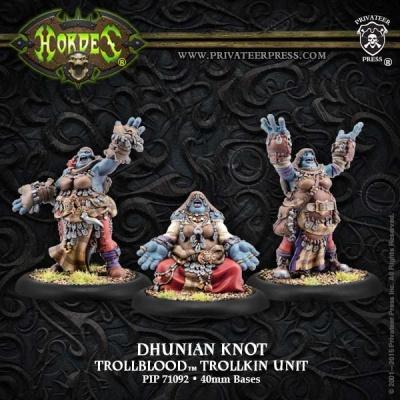 Trollblood Dhunian Knot (3 Models)
