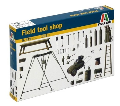 1:35 ITALERIE Field Tool Shop