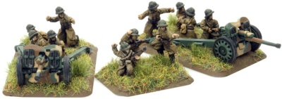 French Divisional AT Platoon with 2x47mm SA-37