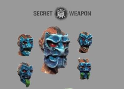 Conversion Bits: Oni Mask Heads (5)