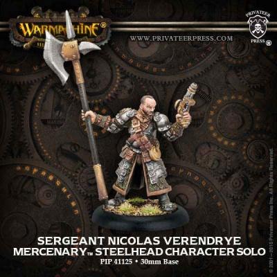 Mercenary Steelhead Character Solo Sgt. Nicolas Verendrye