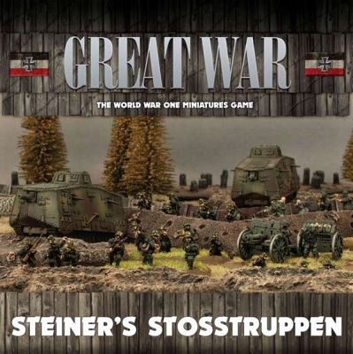 Steiner's Stosstruppen German Army Deal
